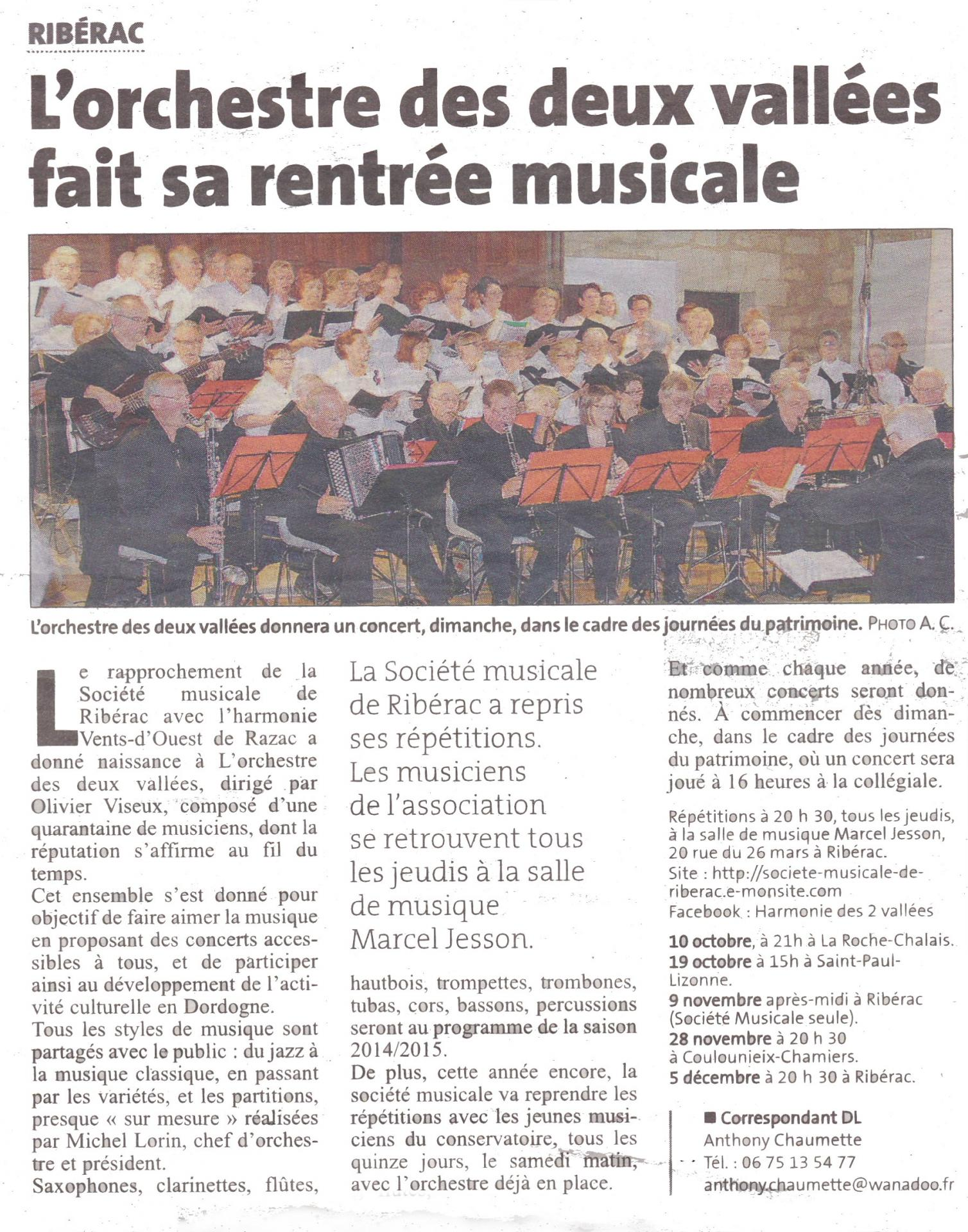 Article rentree dl